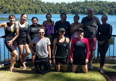 Lake Eacham Training Swim
