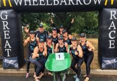 WHEELBARROW RACE 2017